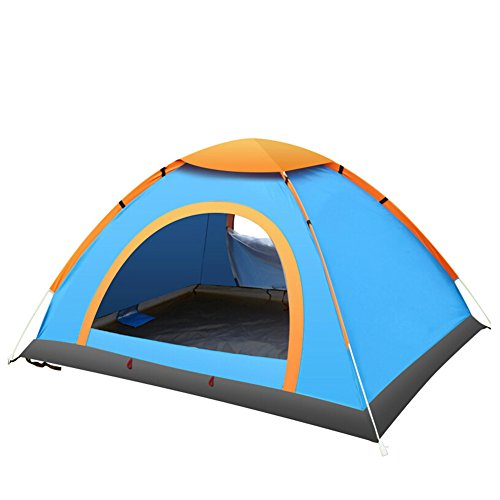 DKISEE C&ing Tent 2 Person Instant Tent Waterproof Tent Backpacking Tents for C&ing Hiking Traveling with Carrying BagBlue  sc 1 st  DailyHikingBlog.com & DKISEE Camping Tent 2 Person Instant Tent Waterproof Tent ...