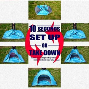 Bormart Instant Pop Up Tents 3- 4 Person Automatic Hydraulic Family Tents Waterproof Backpacking Tents for Outdoor Sports C&ing Hiking Ultralight with ...  sc 1 st  DailyHikingBlog.com & Bormart Instant Pop Up Tents 3- 4 Person Automatic Hydraulic ...
