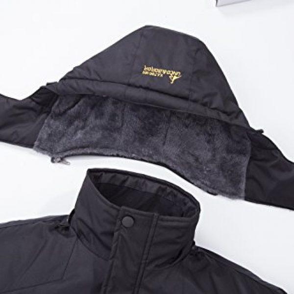 495f5d4db34 chusanhi Waterproof Mens Snow Ski Jacket Winter Snowboard Windproof Rain Skiing  Jackets For Adults Hooded Breathable Outdoor Hiking Coat Water Resistant ...