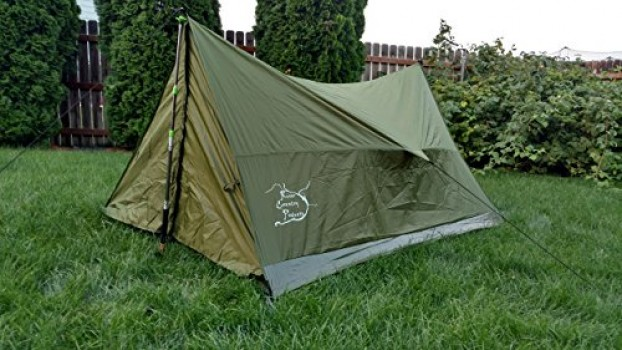 Trekking Pole Tent Ultralight Backpacking Tent 2 Person All Weather Tent : 1 pole tent - memphite.com
